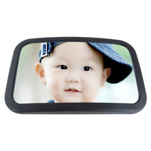 JDI-FXL-PM03 Excellent quality ABS large wide view adjustable baby car interior rearview mirror for back seat