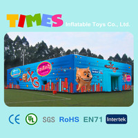 Newest most popular inflatable cube event tent