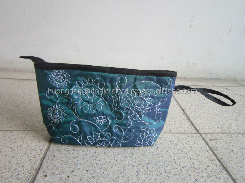 Lady's Purse for keeping money and identity papers, pretty small bag from Vietnam handmade