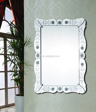 venice float glass decorative craftwork homeware bathroom wall mounted hottest selling new design 5mm silver mirror