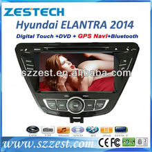 Zestech new product car radio gps 2din dvd cd for Hyundai Elantra dashboard
