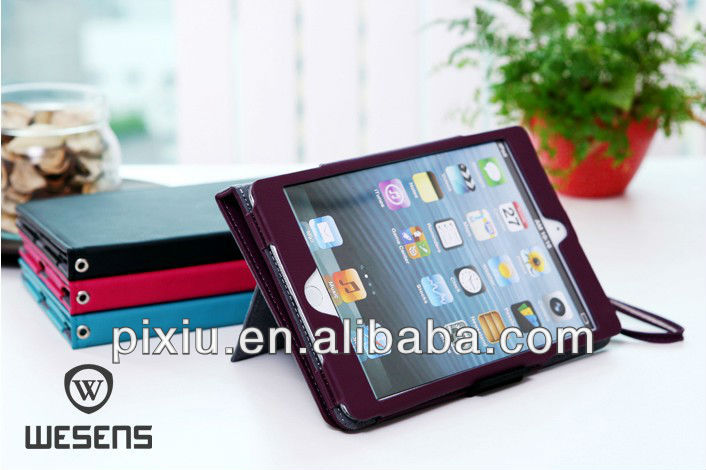 360 rotating for ipad mini leather case