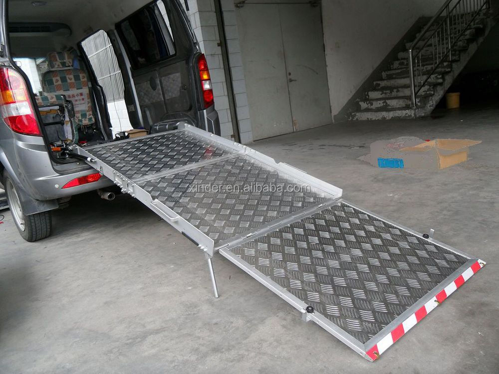 BMWR-3 Manual Wheelchair Ramps for disabled