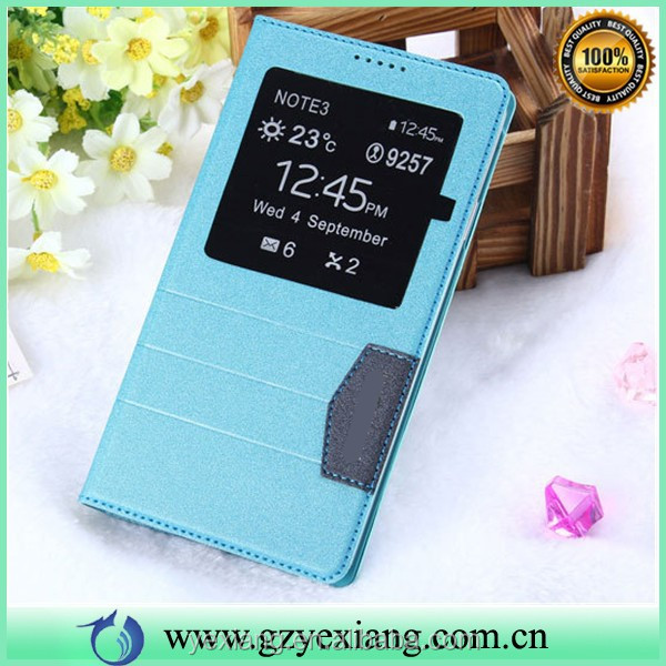 For Samsung Galaxy Note 3 Smart Cover Case, Stand Leather Case With Strong Magnet