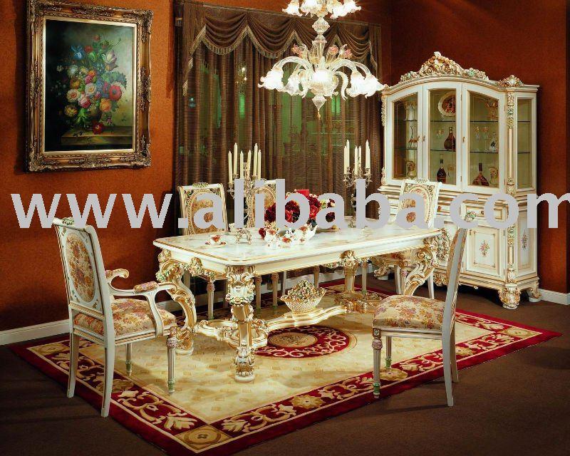 Europeo in stile rococo da pranzo in stile set for Casa in stile europeo