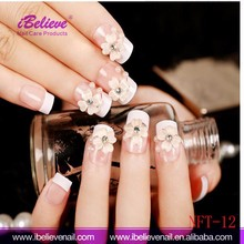New Design Fashion Style Christmas Promotion Artificial Full Cover Fake Nails