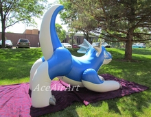 Hot sale high quality inflatable zenith dragon for advertising