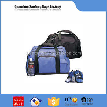 Novelties gym bag with shoe compartment