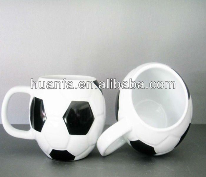 Personalised Football Mug for 2014 Brazil world cup promotion sourvenir gifts