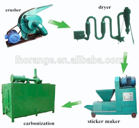 Charcoal briquette machine/rice husk briquette making machine