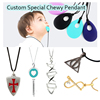 Factory Custom Autism Toy Safety Silicone Pendant teething wholesale