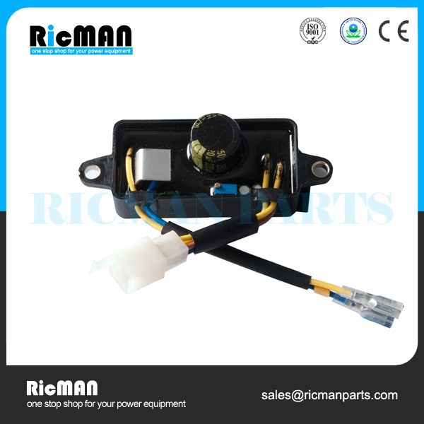 Gasoline 2kw 3kw 5kw generator parts AVR Automatic Voltage Regulator avr for 2.5kw generator