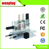 Universal travel adapter with USA/Australia/Europe/UK/South Africa worldwide plugs travel power adapter supplier