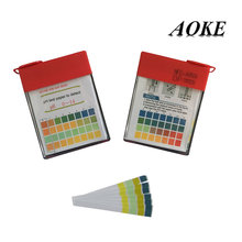 perfume ph alcohol test paper 0 - 14 / strips for lab use