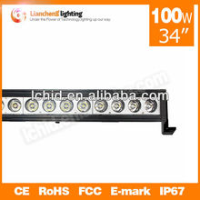 "Fashion type for truck ,off-load ,ATV !!! one row 34"" 100W cree led light bar"