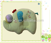 soft plush elepant animal sleeping baby small pillow