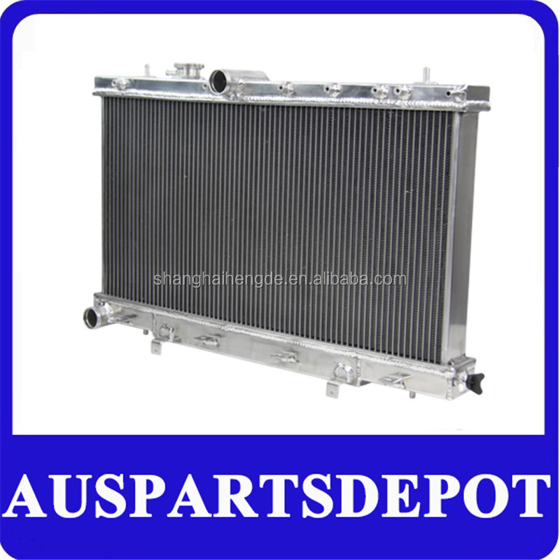 Water cooling radiator automotive radiator sale online Aluminum radiator FITSUBARU IMPREZA WRX STI GDB GD8 GD GDA TURBO 00-07