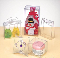 design LED lamb plastic pvc acetate packaging box clear plastic boxes wholesale&PVC/PET packaging