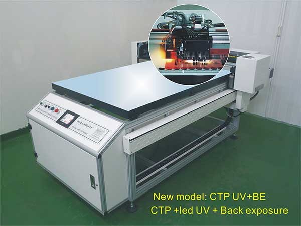 cts Screen Printing Plate Making Machine uv exposure Without Vacuum
