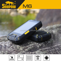 Snopow M6 IP68 waterproof phone with physical button 3.5 inches s7100 dual sim 3g android smart phone