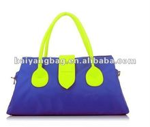 2012 the fashion desinger handbag, nylon handle bag