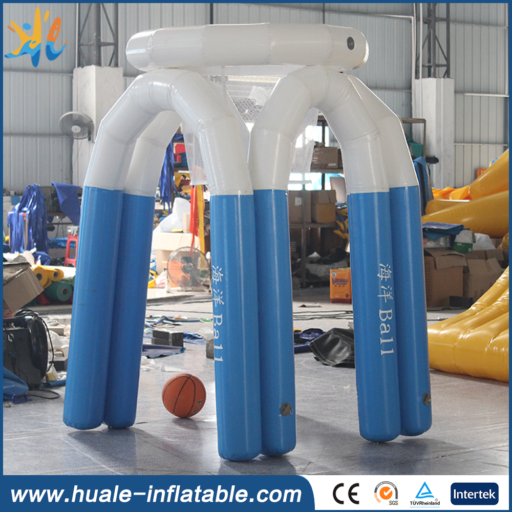 Factory price giant inflatable basketball shoot hoop sports games for adults