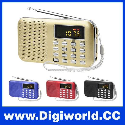 Multifunctional Radio Constructor Digital LCD MP3 Mini Audio Music Speaker
