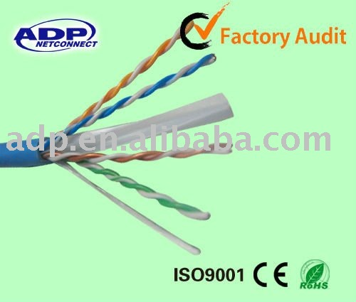 High quality offer utp cat 6 lan cable