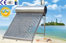 2016 Haining Energy efficient home solar system(stainless steel 100L)