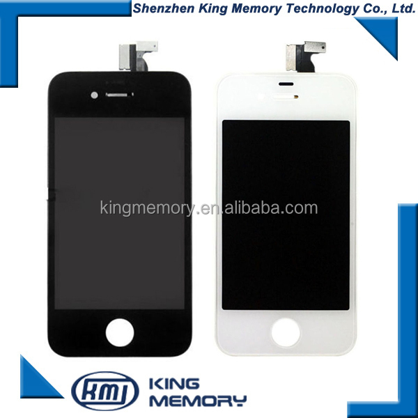 top quality wholesale lcd screen flex cable for iphone 4, for iphone 4 lcd digitizer ,for iphone lcd