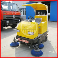 battery powered driving type electric industrial sweeper/dry cleaning machine