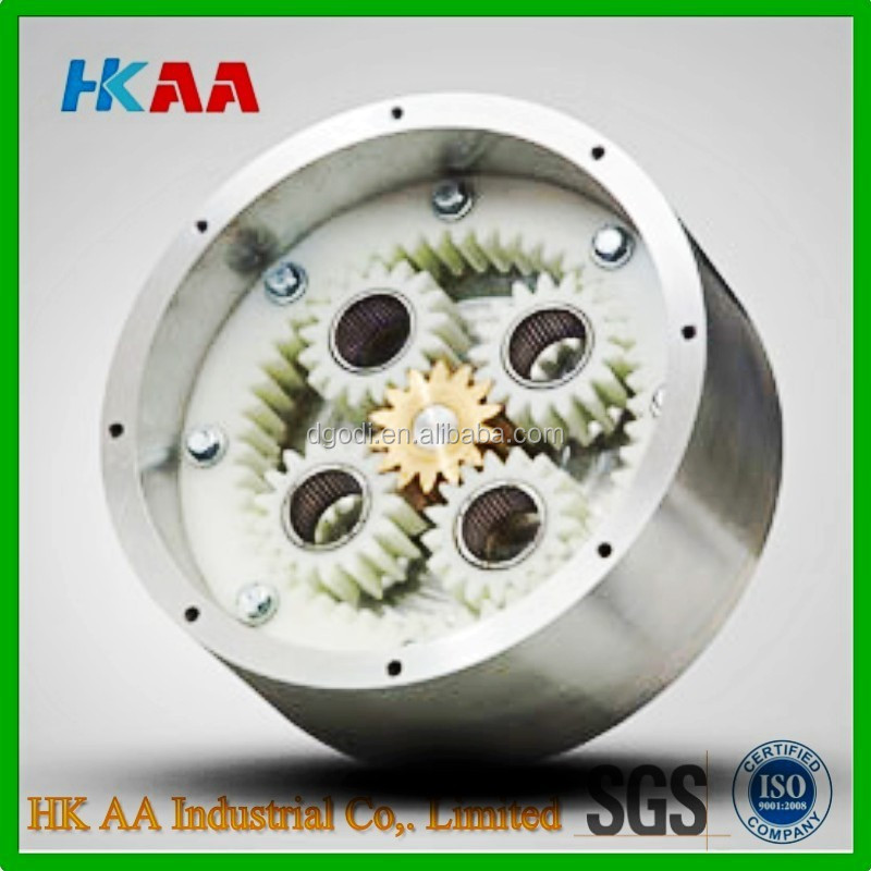 Factory machining service transmission planetary gear design, plastic planetary gears