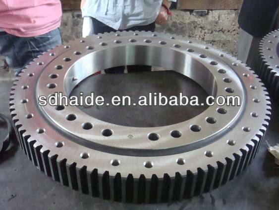 Doosan excavator external gear ring,doosan slewing ring construction heavy machinery parts for SOLAR 155 170 175 220 225