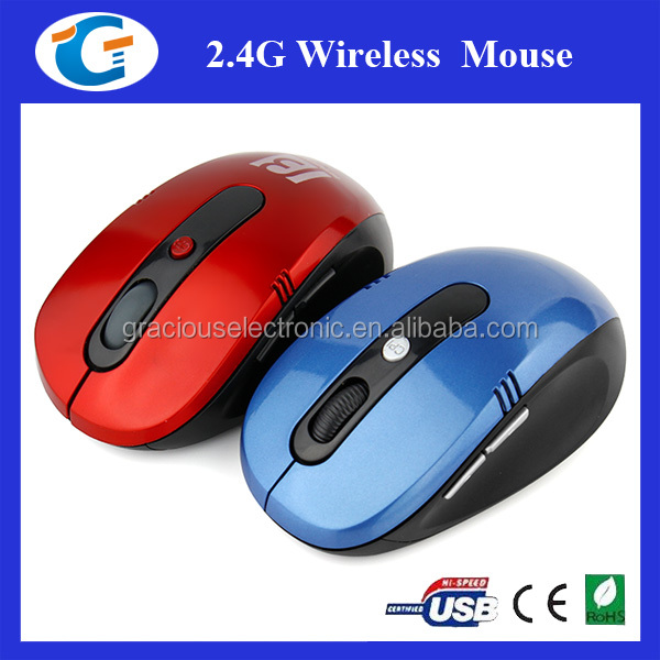 2.4GHz Optical Wireless Mouse Scroll Mice Cordless + USB Dongle Adapter