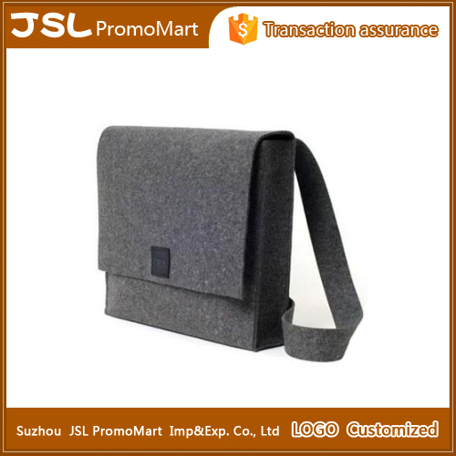 Promotional gifts wool felt laptop bag