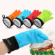 Hot Sale Silicone Bbq Cooking Glove, Microwave Grill Baking Mit