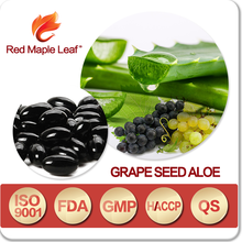 Weight Loss Aloe Vera Plant Extract Grape Fruit Seed Oil Softgels