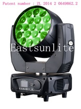 Aura Compact LED Moving Head 19*15W Led Moving Head Wash Zoom stage light