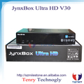 Jynxbox ultra hd V30 with jb200 turbo 8psk and wifi universal remote control JYNXBOX