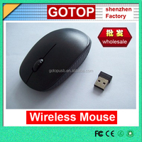 Hot Sell 2.4G Wireless Mouse with AAA battery supply custom logo mouse mini wireless mouse