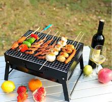 Professional folding leg barbecue grill portable grill with cooler bag