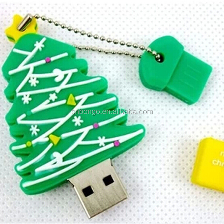 The Christmas tree design usb flash drive / usb stick /usb flash disk