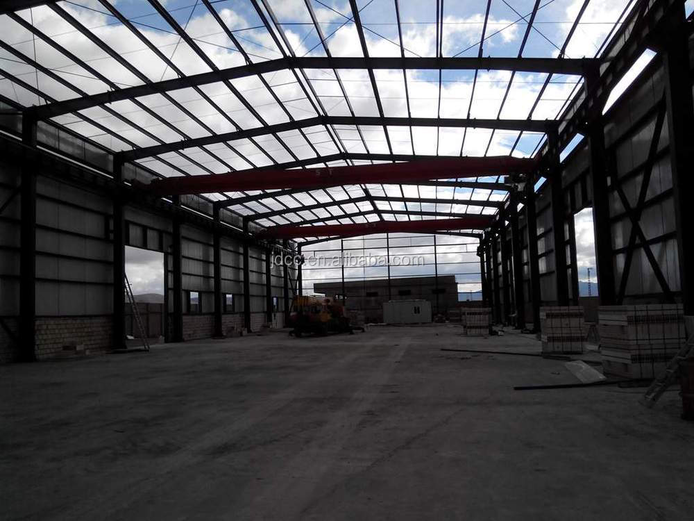 Low Cost and Fast Assembling Steel Structure Workshop