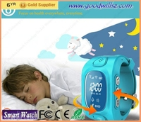 Colorful smart watch for kids gps tracking fashion for kids mobile watch phones