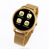 Wholesale 1.54 2g android 4.0 smart watch phones VS36 Waterproof Steel IPS Clock support IOS Android system Smart Phone