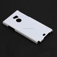 Exclusive custom,color white import PC material cellphone back cover for ARROWS MO2