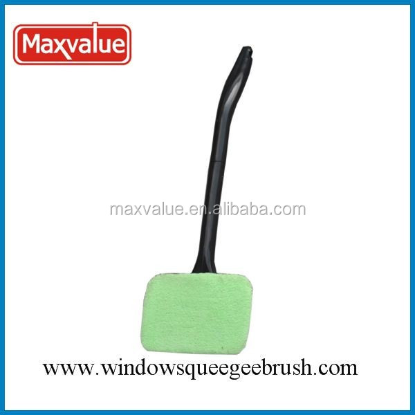 window cleaning microfiber brush