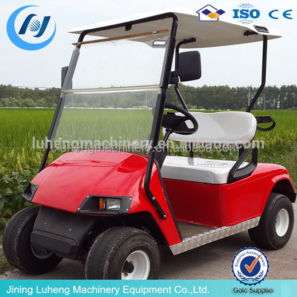 Single seat cheap 4 wheel drive electric golf cart for for Motorized carts for sale