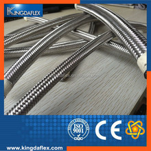 High Pressure 304 Stainless Steel Braided Teflon PTFE Steam Hose