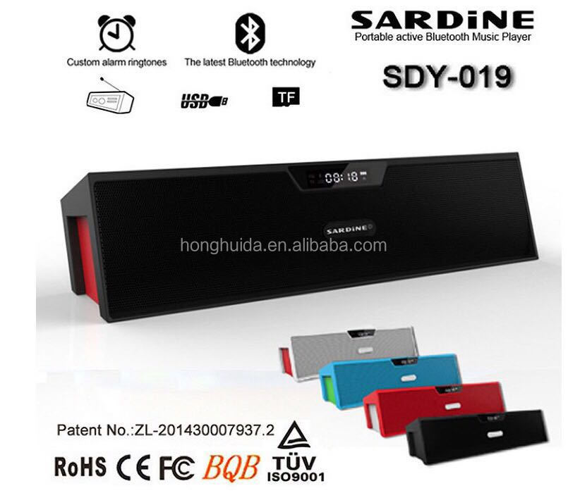 SARDINE SDY-019 Mini Bluetooth Soundbar wireless stereo bluetooth speaker